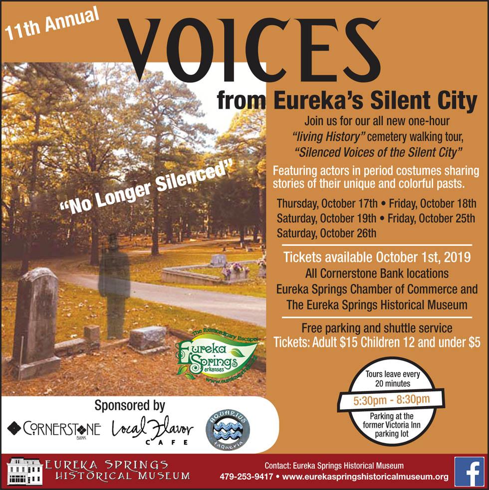 11th Annual SIlent City Eureka Springs Arkansas